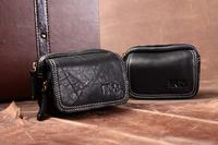 Hotsale Korean Trend Genuine Leather Vintage Leisure Style Outdoor Men's Wait Bags