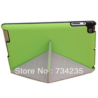 Green Transformers Flio Smart Cover PU Leather Case for iPad 2/3/4 Free Shipping