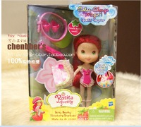 "Free Shipping Strawberry Shortcake Dolls Berry Beachy Strawberry Shortcake Smells Berry Sweet color-change ""magic"""
