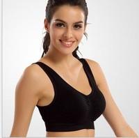 Fashion Bamboo 100% Cotton Women bust Push Up Yoga Sports Bra Tank Underwear Bra 70 75 80 85 Size (32 34 36 38 40 42) 3 Color