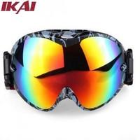 OUT352-3 Men Ski Glasses Free Shipping Snowboarding Goggles Multi-Color/dual Lens UV-Protection Anti-Fog Winter Snow Ski Glasses