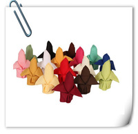 2014 new product 100% polyester plain napkin for wedding-- Free Shipping