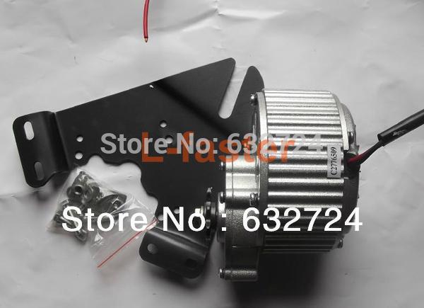 24V36V 450W Electric Brush Motor Electric Bike Aluminium DC Motor MY1018 Electric Bicycle Conversion Kit Motor(China (Mainland))