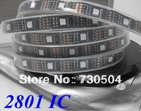 Wholesale Price High Quality DC5V Input RGB 32pcs 5050 SMD with 32PCS IC 2801 Led Strip