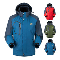 L-5XL HOT ! Free shipping 2014 autumn Spring Winter Waterproof, breathable Outdoor, mountain hiking, man jacket coat #5801