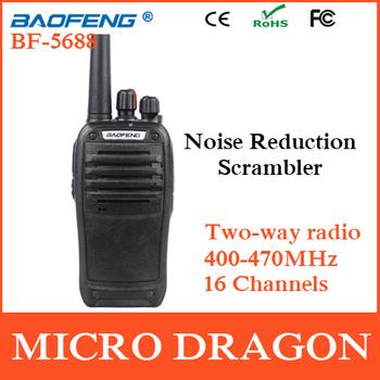 Original BaoFeng BF-5688 Professional Transceiver 16 Channels FM Ham Two Way Radio Walkie Talkie Transmitter cb Radio Station