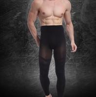 Fashion Men' s Thin Carry Buttock Thin Leg  Ninth Pants Slimming  Pants Body Shaper  Tighten The Dewlap Free Shipping