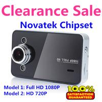 "Factory Price Car Camera 2.7"" TFT LCD 120 Degree Motion Detection Infrared Night Vision HDMI Car DVR K6000 1080P Free Shipping"