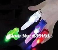 4 color 4pcs Halloween Gift Laser LED light Beam light Ring finger Lamp Four Color in one pc