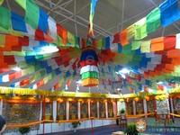Wholesale Retail Tibetan cloth prayer flags 5 meters 5 colors prayer flags