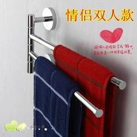 Wall Mounted Space Aluminum Double Layer Pallet Hook Bathroom Shelf Bathroom Accessories Towel Bar Towel Racks  RB-88001