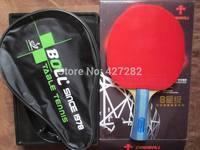 Original TIMO BOLL 8 stars table tennis racket 8002 long handle FL good racquet Horizontal Grip paddle racket