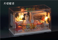 New Arrival Angel Honey Model Villa  Free Shipping Manual Creative DIY Doll House/Couple Gifts