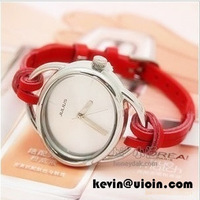 Korea ladies analog watch students/youth/girls relaxation watch/lovers watch as Festival/Birthday gift 2014Newest fashion/cool
