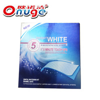 Freeshipping Onuge Dry  tooth Whitening Strips (30mins express) 14 Pairs Tooth paste  CE Teeth strips  wholesale Tooth strips