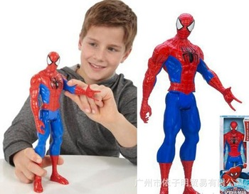 2013 free shipping children spiderman toy&ironman toy
