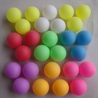 HOT SALE!FREE LOGO PRINTING wholesale balls  table tennis 38mm ball colorful ball plastic balls  model decoration ball