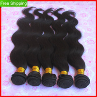 Queen hair products brazilian  virgin hair body wave Grade 5A 3pcs/lot 100% Unprocessed human hair extension DHL free shipping
