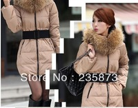 2013 New Fashion Candy Color Slim Thickening Fur Collar Female Short Design Wadded Jacket Cotton-Padded Jacket Outerwear