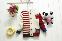 girls boys sweater baby & kids boys sweater boys clothes winter jackets for children  outerwear boy sweaters freeship