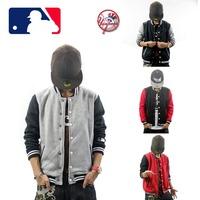 Mens Hoody Coat Jacket Baseball Uniform Thick Fleece Sport Jersey 2014 Autumn/Winter PELLE Brand Sweatshirt Outdoor Black/Gary