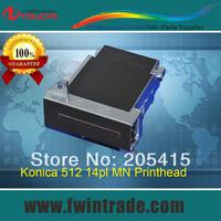 Original Japanese Solvent base Large printer spar parts konica 512 14pl MN printhead