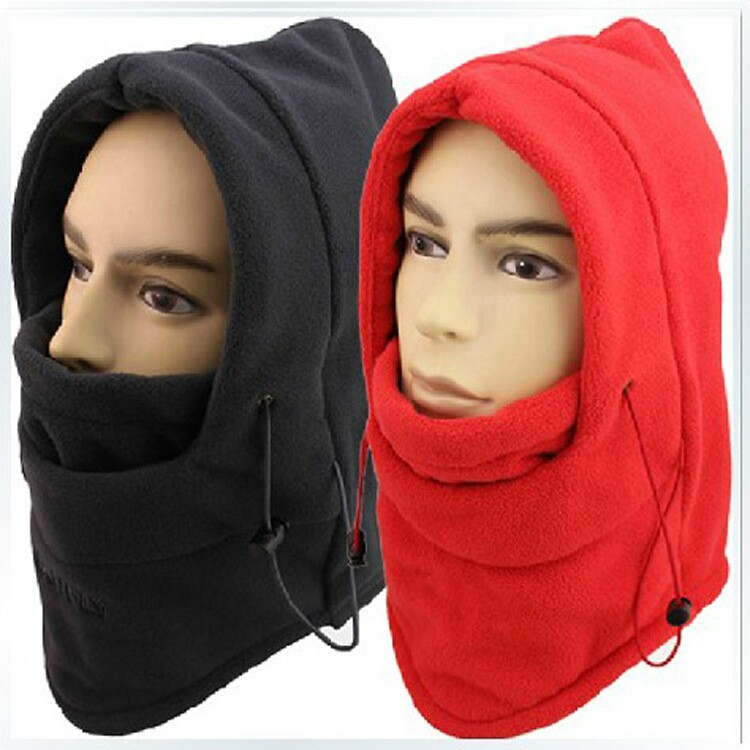 HOT winter hat for men warm fleece hat women protected face mask ski gorros hat CS outdoor riding sport snowboard cap 10 colors(China (Mainland))