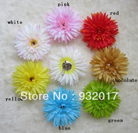 Free Shipping 7Colors Infant baby Kids girls daisy flower on clips