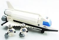 Ausini Space Shuttle Man-made Satellite Building Blocks Construction Educational Bricks Hot Toy for Boy Gift Compatible Blocks