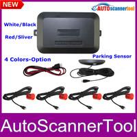 4 Sensors Car Parking Sensor System 12V LED Display Parking Reverse Backup Radar Free Shipping