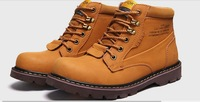 new 2014 Winter thickening thermal male snow boots male boots outdoor waterproof male boots male winter boots Flats