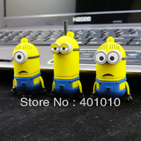 Minion Despicable Me Meu Malvado Favorito 2Dave Kevin Stuart 8GB 16GB 32GB USB 2.0 Flash Memory Stick Drive U Disk Thumb Pen