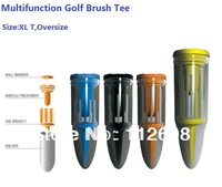 Free Shipping Last Stock Golf Brush Tees Golf Accesories Golf Tees Multifunction Golf Tees
