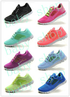 Free shipping barefoot running shoes free run 5.0 +3 sport shoes,lowest pirce eur 36-40,Sneakers For  Women