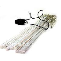 20 cm*8 tubes White LED Meteor Shower Rain Tube Lights Outdoor Tree Decoration 100V-240V