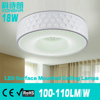 Diameter 40CM 18W LED Ceiling Lights For Living Room\Bedroom\Dining Room Light Color Warm White\Cold White 2 Years Warranty