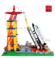 Enlighten Building Blocks Space Shuttle Launching Base Sets Educational Construction Bricks Hot Toy for Children Gift