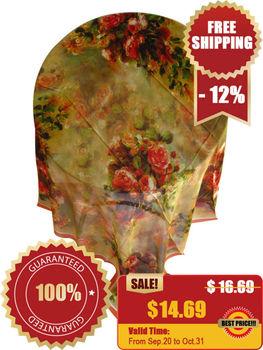 [Silk georgette scarf]105cm*110cm silk square scarf/100% high quality mulberry silk shawl/2013 new design/NO-6