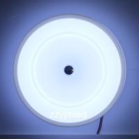 24W Acrylics LED Ceiling Light  Round Shape AC85-265V