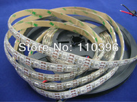 Individually addressable WS2812b WS2811 LED Strip 240 4m;Waterproof White Pcb 5v WS2811 chip built-in 5050 Rgb Digital strip