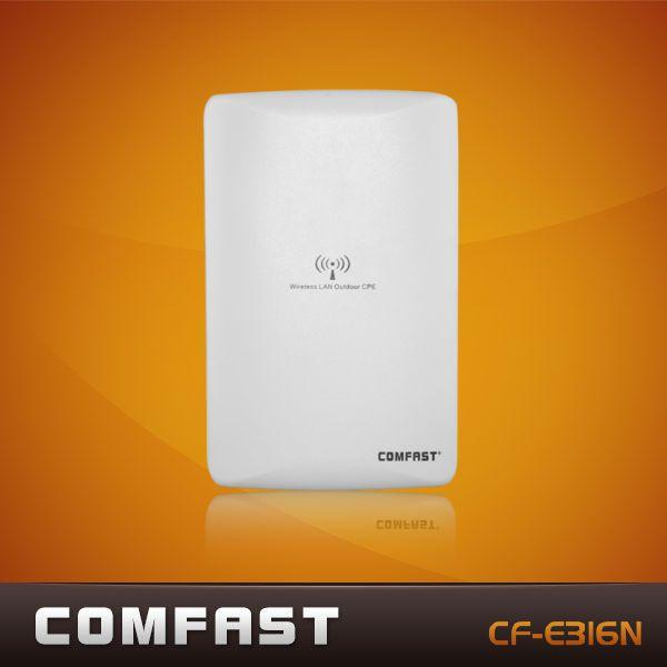 Livraison gratuite comfast cf-e316n 300 2mbps ap sans fil/pont réseau/extérieur wifi cpe/répéteur./amplificateur de signal