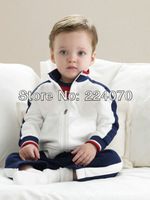 Free shipping autumn winter  two-Piece Kids Clothes Set Children Clothing Suit Baby Boys Clothes Suit
