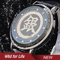 Anime Gintama Sakata Gintoki Brand New Fashion Water Resistant Touch Screen LED Watch
