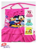 girls baby kids swimsuit one pieces minnie princess swim suit children swimwear girls bathing suits flower cheap new 26