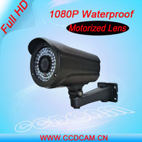 Support Focusing and Zoom remote control and Varifocal Motorized Lens Full HD 1080P Outdoor IP Camera EC-IP5944F