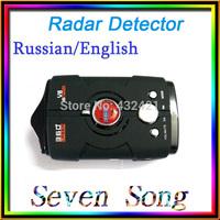 NEW 2014  car radar   car styling Radar Detector V8 upgrade version Russian/English Voice with LED display