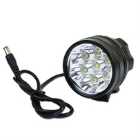 9800LM 7x Cree XML T6 Led Bicycle Bike Headlight Flashlight Lamp 6400mah battery---FL04067