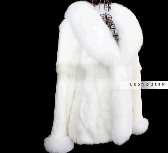 ... rabbit fur coat womens winter jackets white fur coat women hot sale