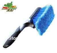 Free shipping  tyre brush  car wash wheel brush  rim cleaning brush