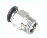 PC6-02 tube size 6mm  1/4 thread air fittings